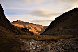 Sunrise in Kyrgyzstan
