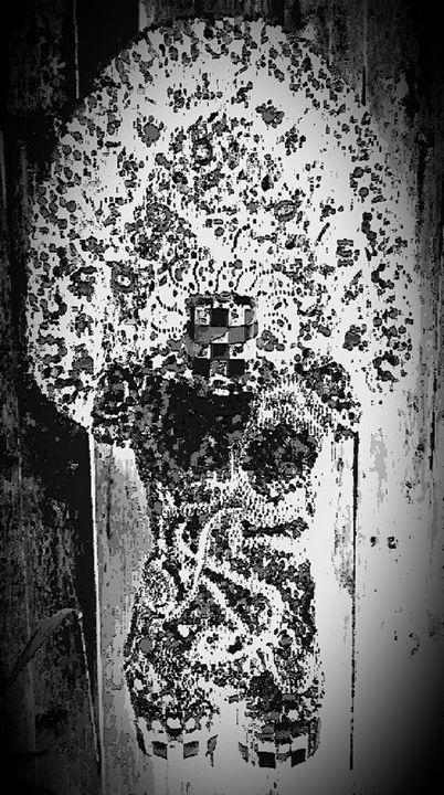 photo taken of my original wall art - ManneKens Wall Art