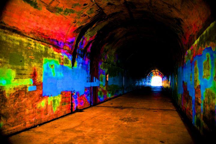 Graphic Tunnel - Through Jenn's Lens Photography