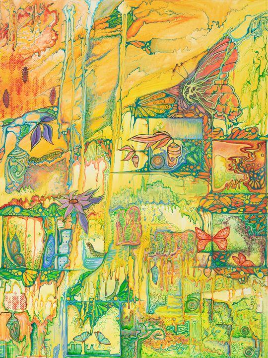 Emerging Cycle - Joy Bliss Art