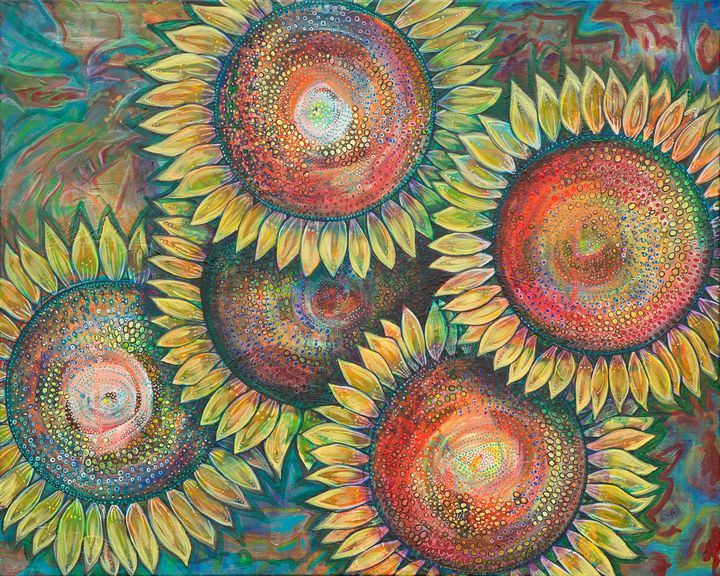 Sunflowers - Joy Bliss Art
