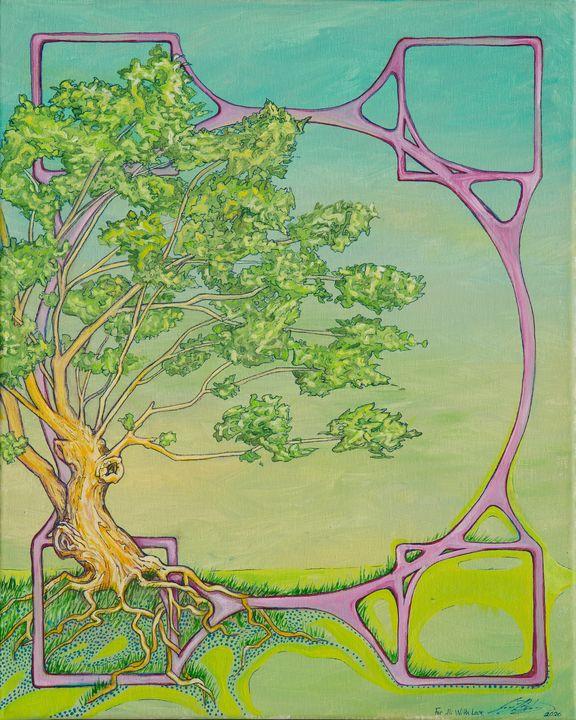 Ali's Tree - Joy Bliss Art