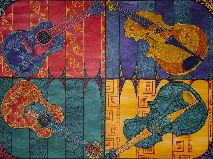 Musical Warhol - Joy Bliss Art