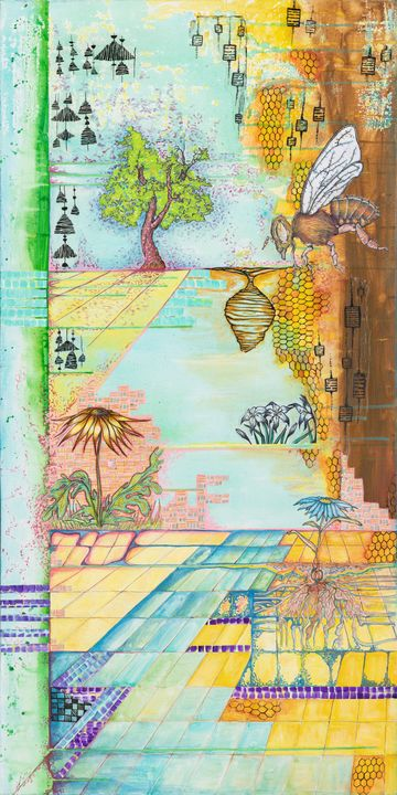 Bee - Joy Bliss Art