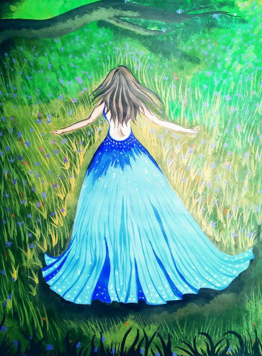 Cinderella in the forest.. - Pallavi