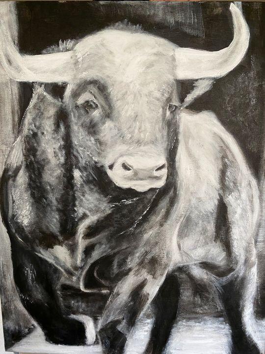 Spanish Bull - Scott R Henderson Art