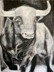 Spanish Bull - Scott R Henderson Art