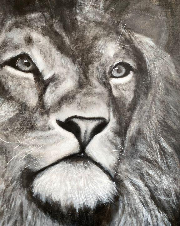 King of the Pride - Scott R Henderson Art