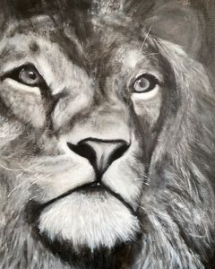 King of the Pride - Scott R Henderson Art