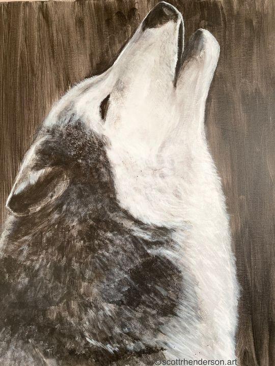 Call to the Moon - Scott R Henderson Art