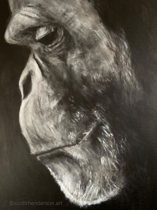 The Great Ape - Scott R Henderson Art