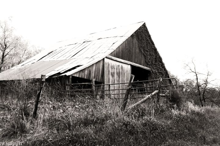 Old Barn by the Road - Brasier76