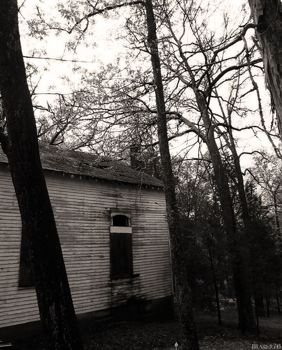 Old Church in the Woods - Brasier76
