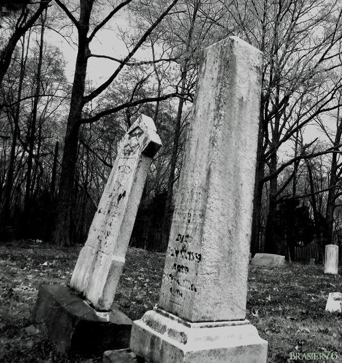 Leaning Tombstones - Brasier76