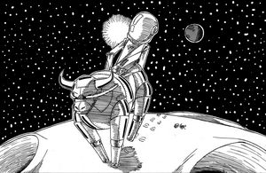A ride on the moon