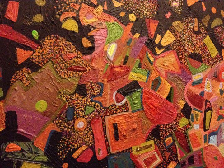 Melancholic abstraction - Polish fine arts