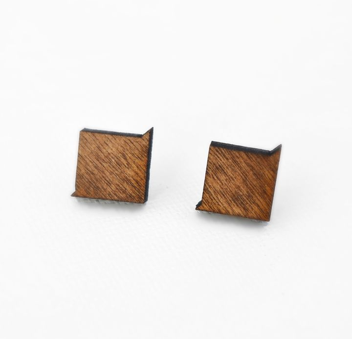 Squared Studs - Dasit Designs
