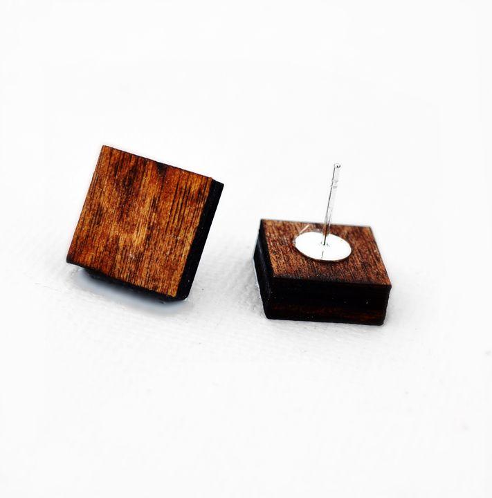 Square Stud - Dasit Designs