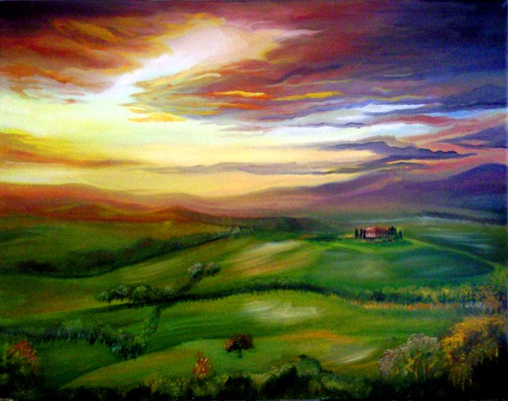 Italian Sunset - Heather Anne Pope