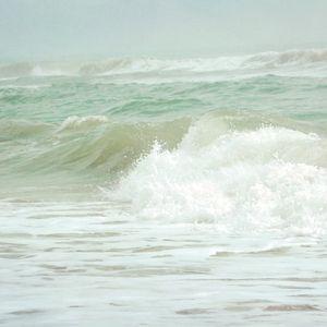 Sea Green Waves