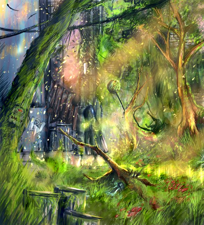 Return to Innocence - Tobias Ryen Amundsen Artwork