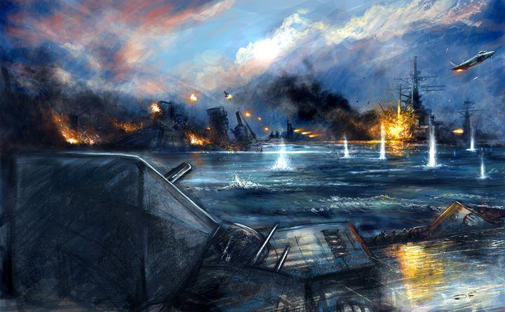 Bay of Biscay - Tobias Ryen Amundsen Artwork
