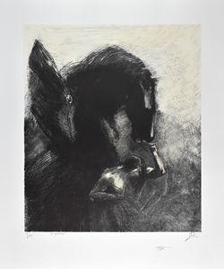 Odilon REDON, Captive Pegasus 1889