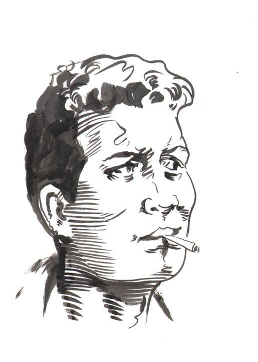Yancy St. Gang Member - Robert Berry's Drawing Table