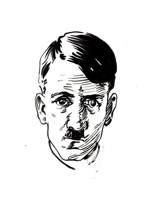 Hitler Clone - Robert Berry's Drawing Table