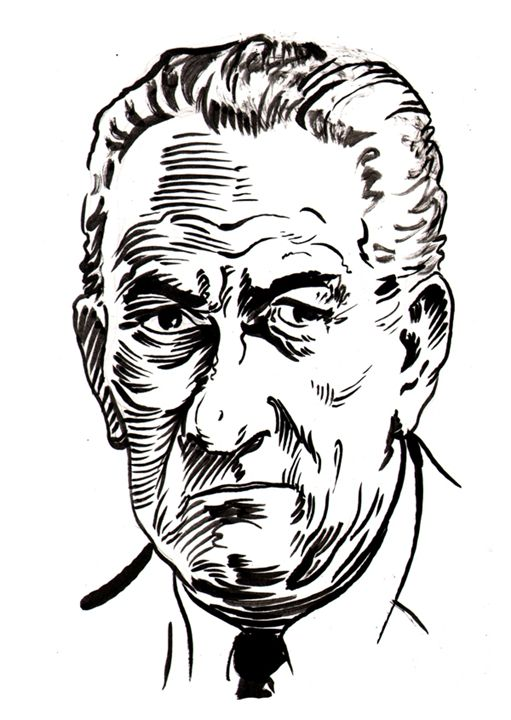 Lyndon Johnson - Robert Berry's Drawing Table