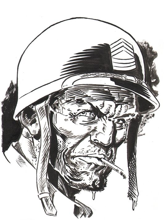 Sgt. Rock - Robert Berry's Drawing Table