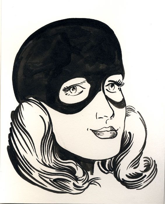 Marvel Girl - Robert Berry's Drawing Table
