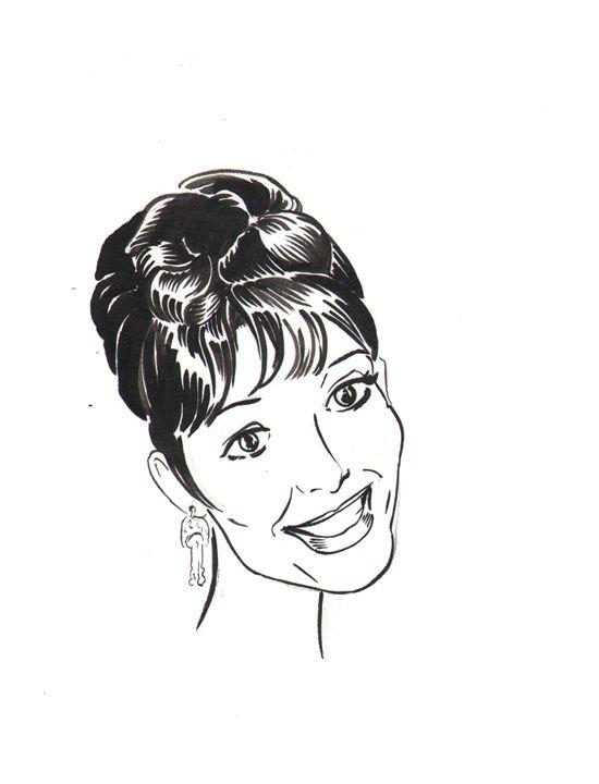 Audrey Hepburn - Robert Berry's Drawing Table