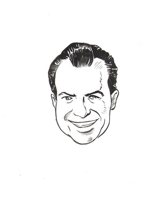 Richard Nixon - Robert Berry's Drawing Table