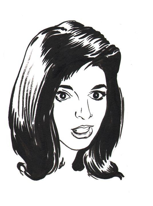 Liza Minnelli - Robert Berry's Drawing Table