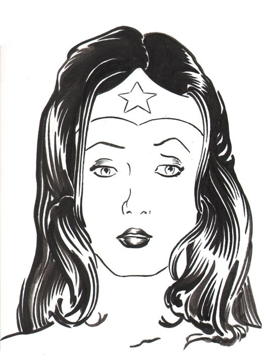 Wonder Woman - Robert Berry's Drawing Table