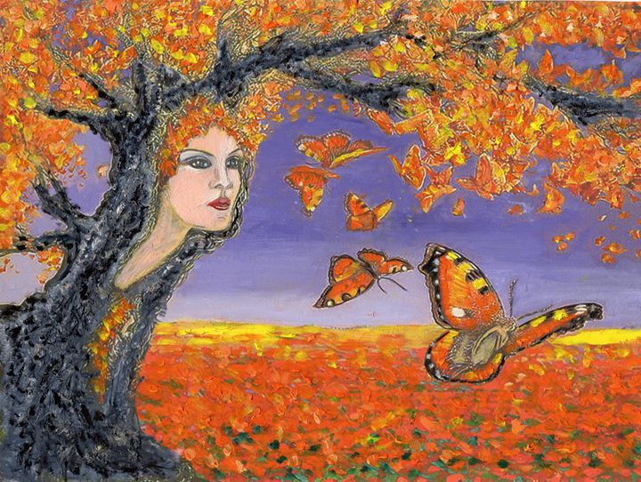 Fly with the autumn wind - Eliza Claudia