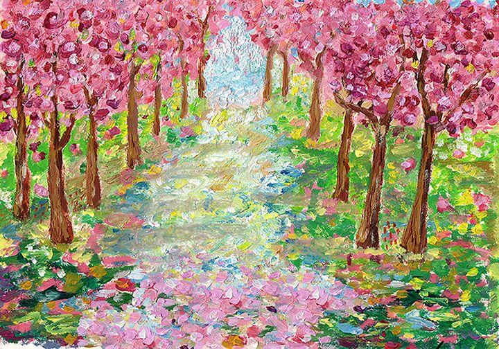 Cherry blossoms - Eliza Claudia