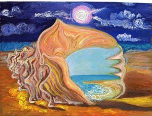 Creamy seascape