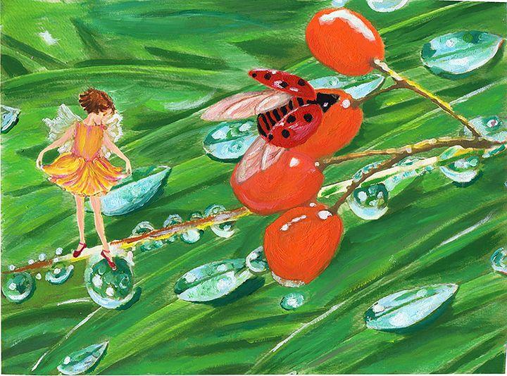 Fresh drops - Eliza Claudia