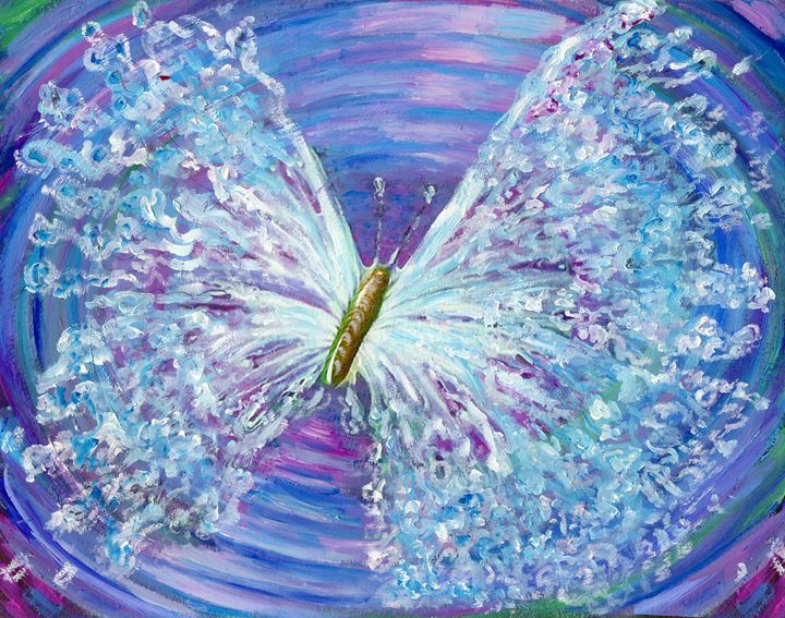 butterfly wings of water - Eliza Claudia