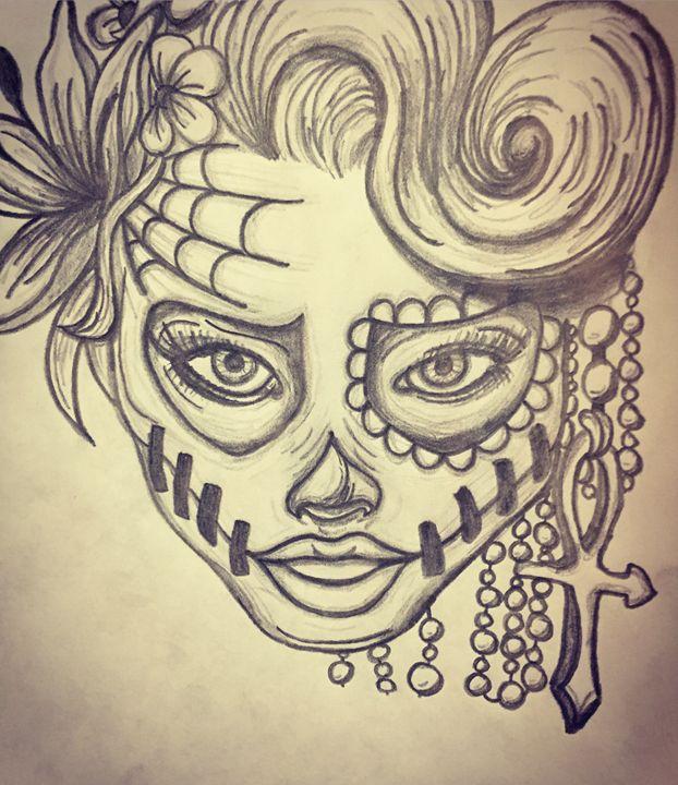 Skull - Brittnie Nicole