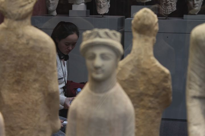 The British Museum II - Eleanor Hegarty