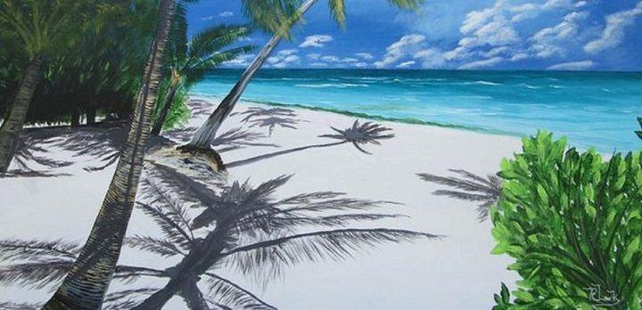 Shadow Beach - Bob's Fine Art