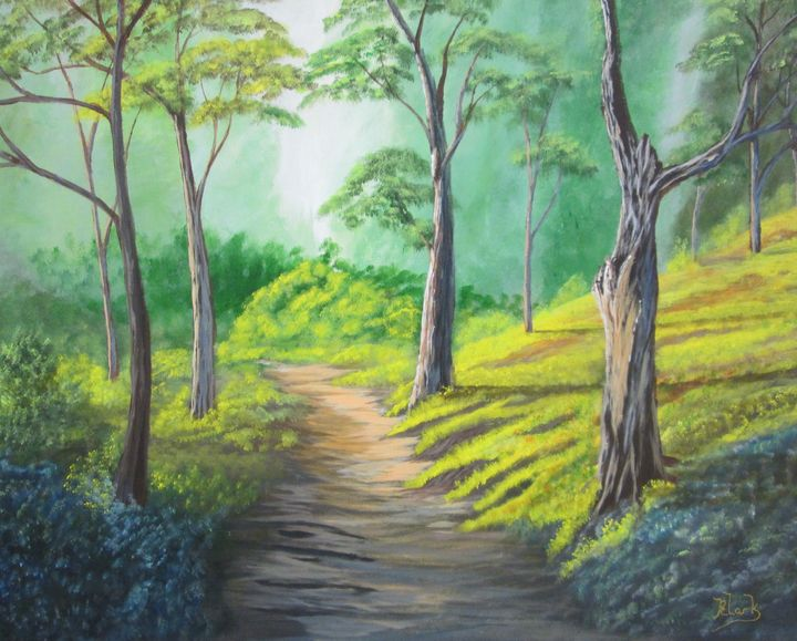 The Path - Bob's Fine Art