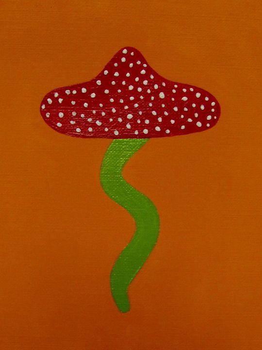Retro Mushroom - Hiedi Schmitz