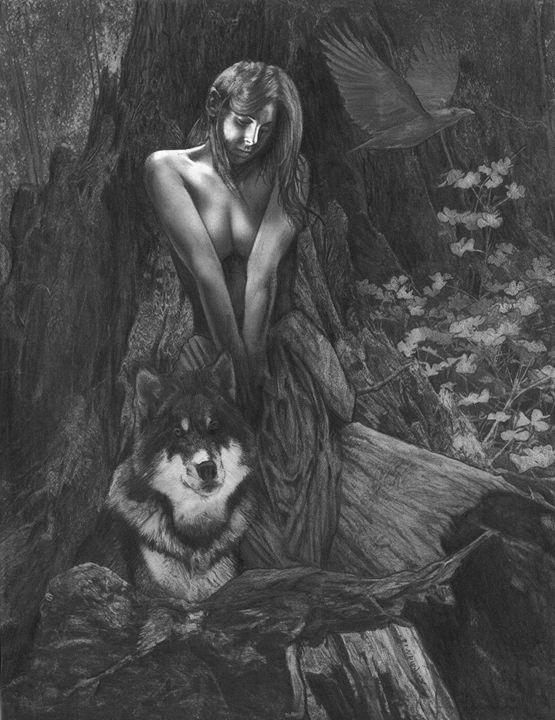 wolf girl - furmiano