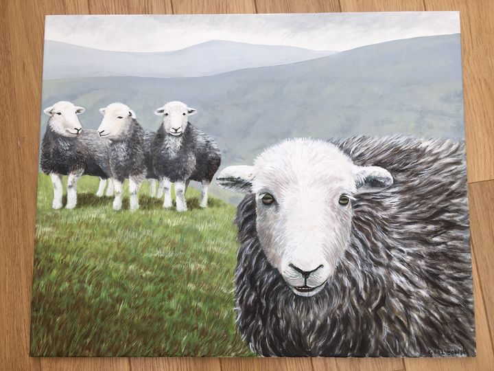 Herdy and Friends - CNG Art