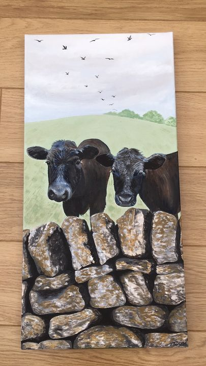 Yorkshire Cows - CNG Art