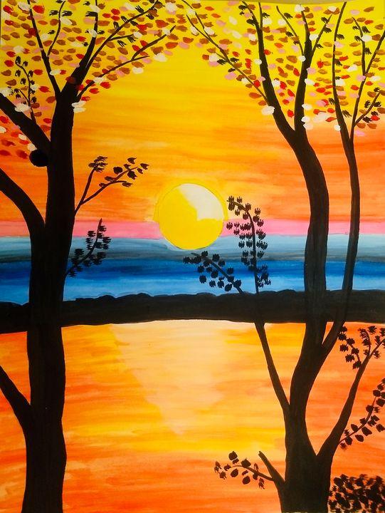 Sunset at Dusk - MyArtSpace
